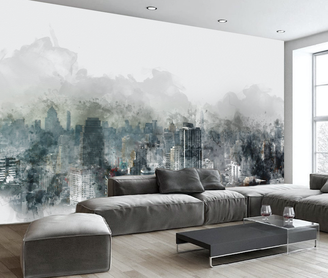 3D Black Forest WG233 Wall Murals