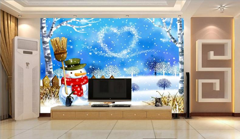 Lovely Snowman Wallpaper AJ Wallpaper