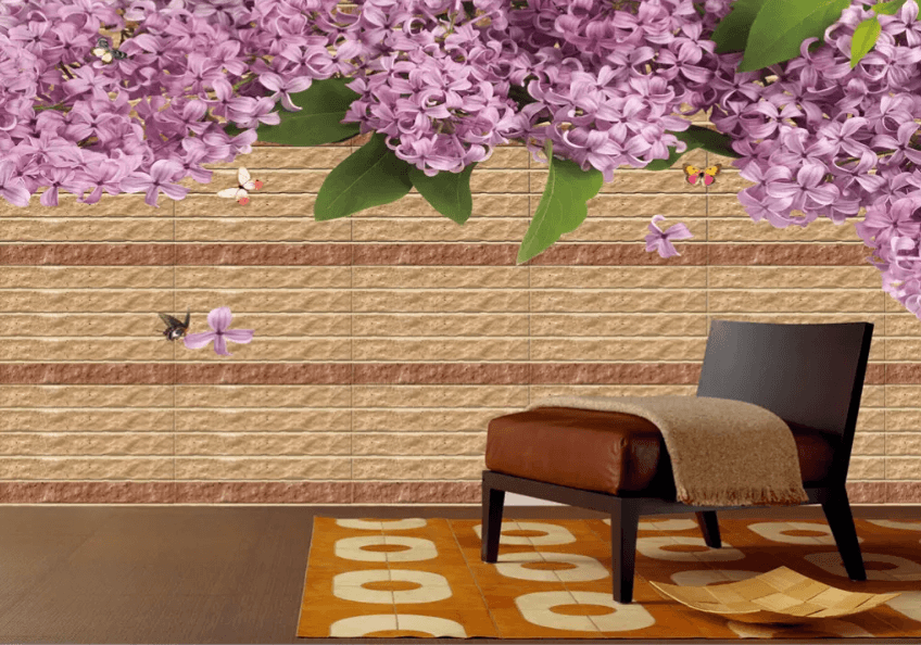3D Bouquet Petal Butterflies 1421 Wallpaper AJ Wallpaper 2