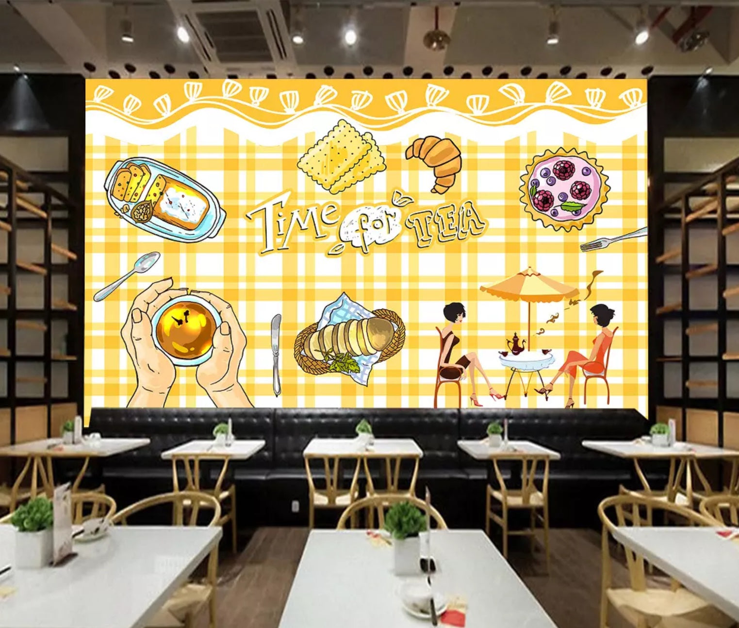 3D Delicious Food 1290 Wall Murals