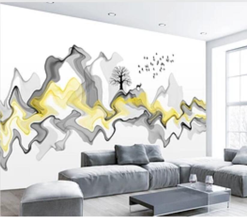 3D Abstract Mountain Peak 1723 Wall Murals Wallpaper AJ Wallpaper 2