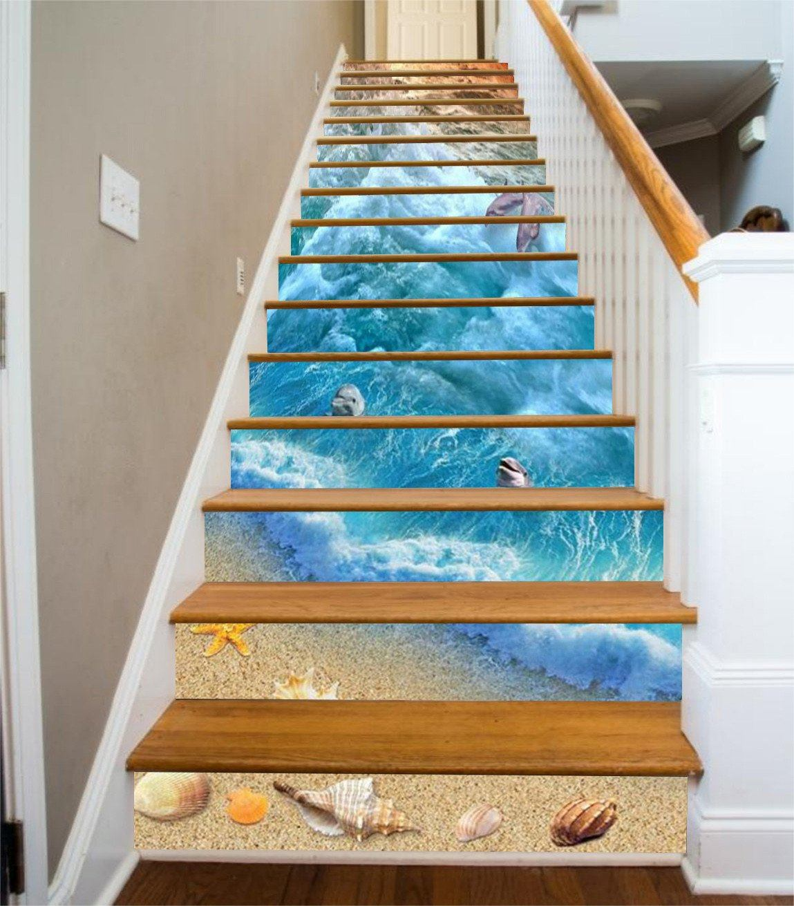 3D Beach Elements 74 Stair Risers