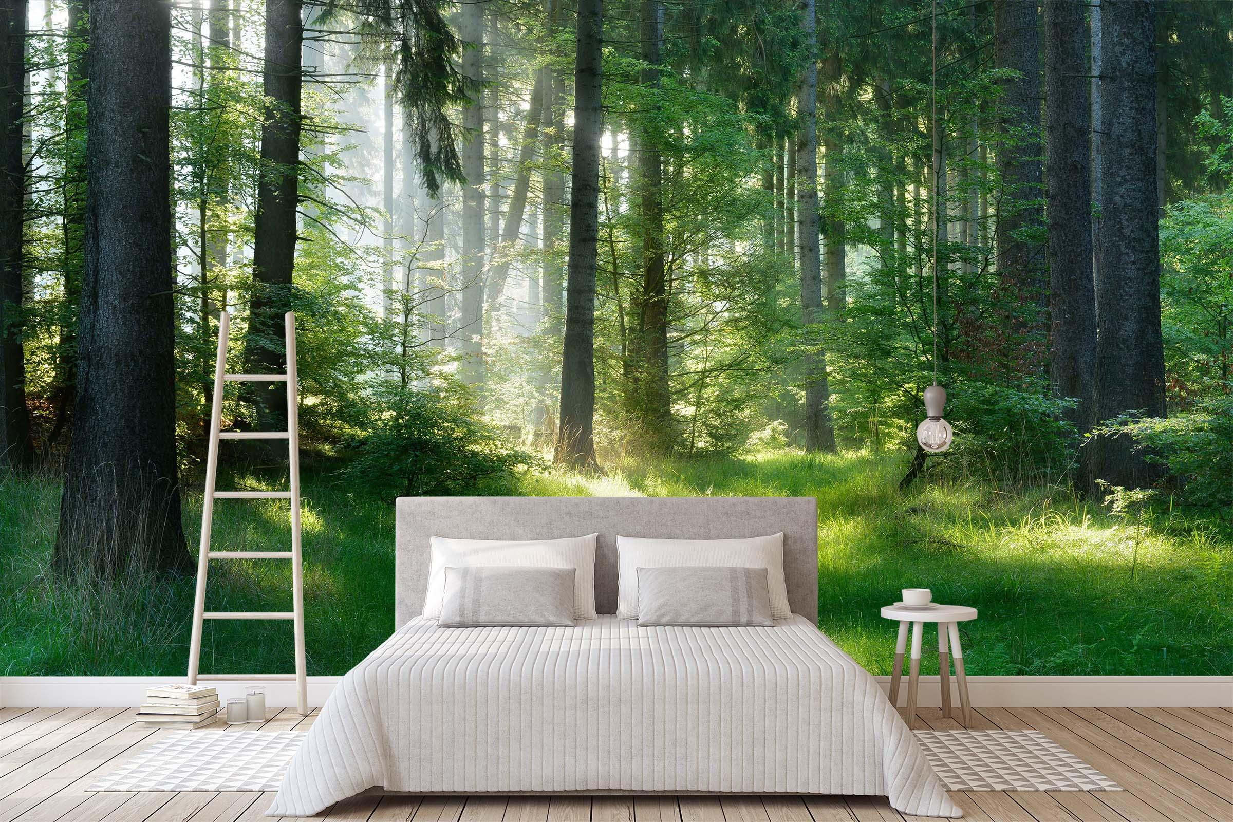 3D Woods Forest 140 Wall Murals