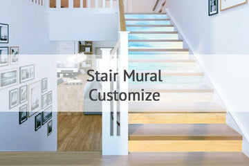 Customize Stair Mural