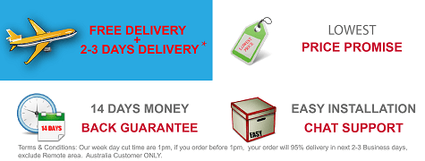 Free Delivery & Money Back Guarantee