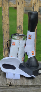 Top Rail Sliderz Protection boots combo set