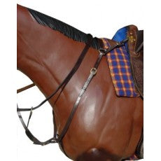 Stockman Breast Plate Brown Full