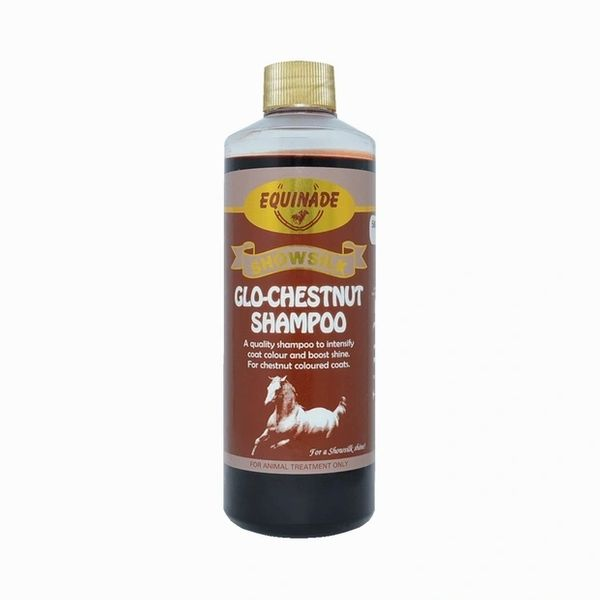EQUINADE SHOWSILK GLO CHESTNUT SHAMPOO 500ML