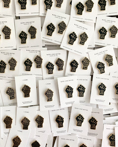 Black Lives Matter Pin Collection - 100% of profit donated