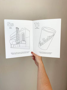 Buffalo, NY Alphabet Coloring Book