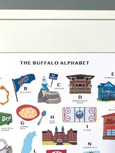 Load image into Gallery viewer, Buffalo, NY Alphabet Print