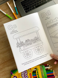 Winston-Salem Alphabet Coloring Book