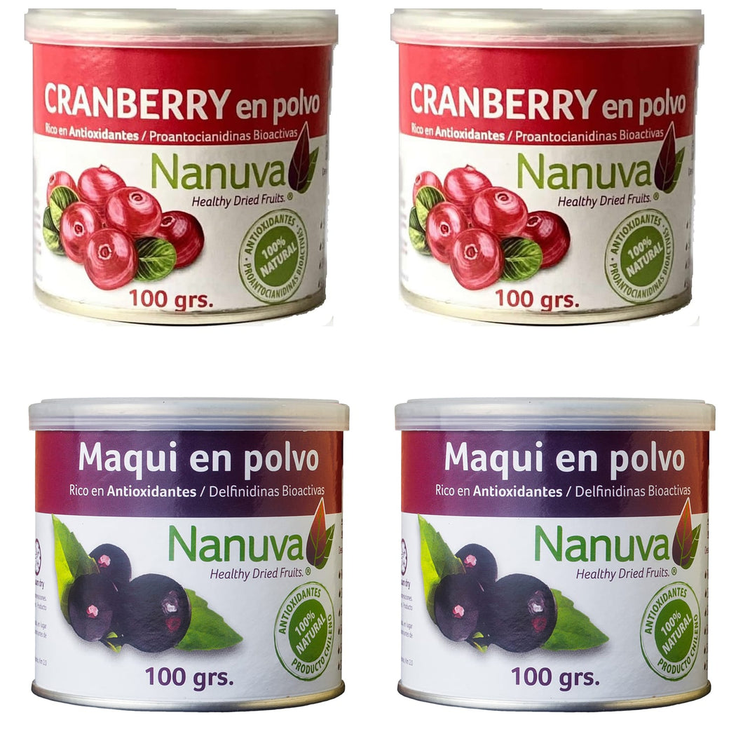Pack doble Cranberry y Maqui Nanuva