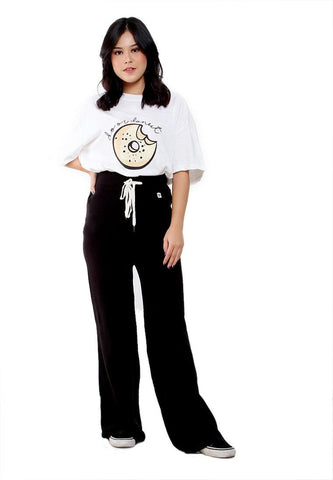COMBO THREAD FLARE PANT KNIT