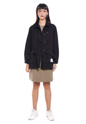 LILA TWILL JACKET DOUBLE POCKET - Hardware Clothing