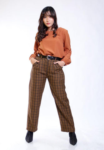 KULOT PANTS PLAID