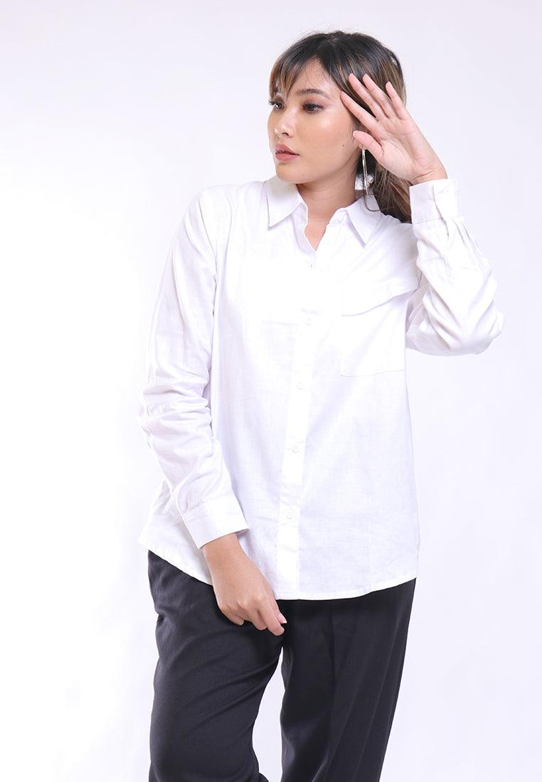 VELLY SHIRT LOONG SLEEVE