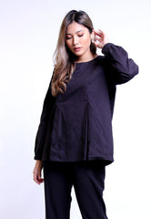 TOP BLOUSE PUFF LONG SLEEVE