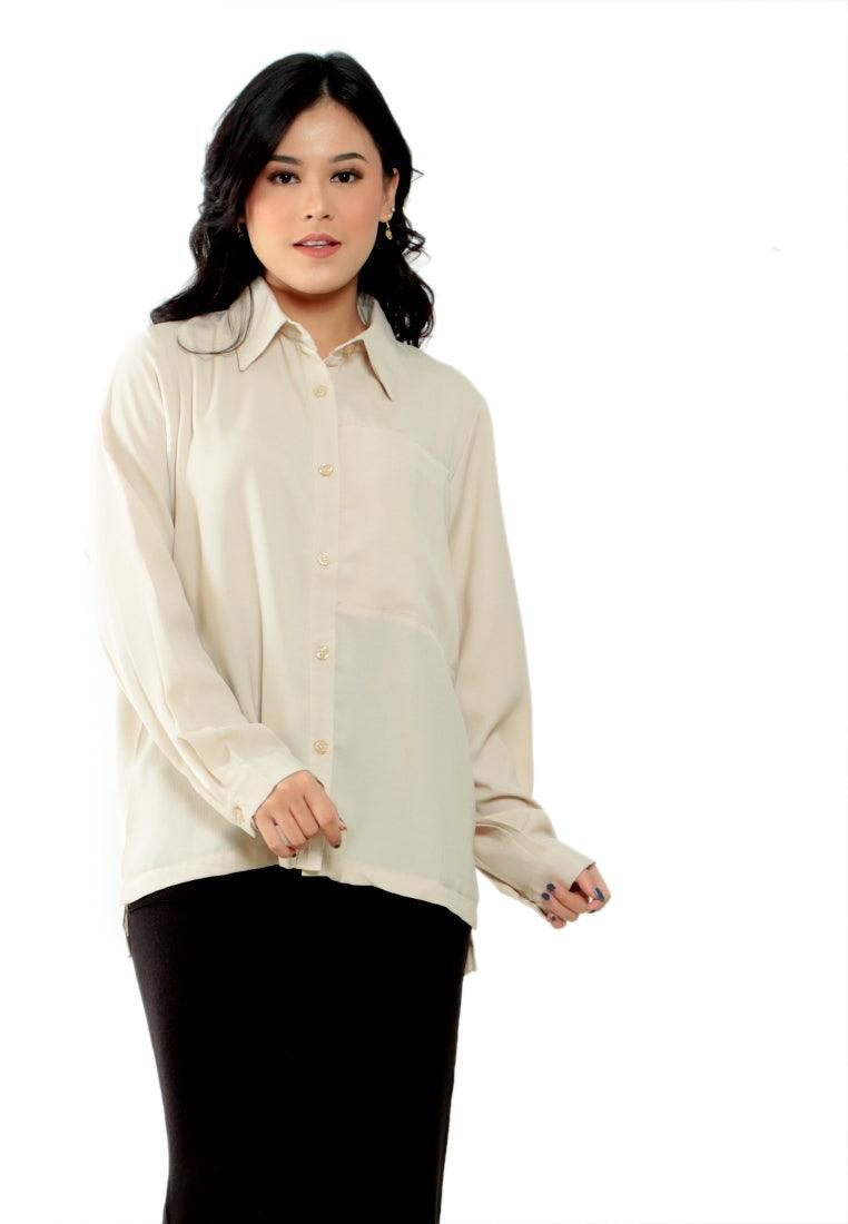 SHIRT OVERSIZE OVERCUT DETAIL