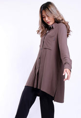 OVERSIZE SHIRT LONG SLEEVE