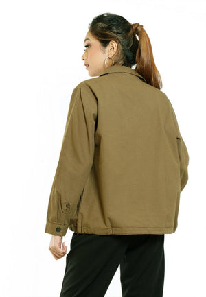 GETTY CROPE JACKET
