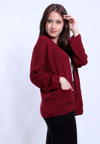 PATCH POCKET CARDI