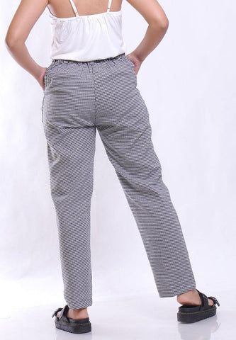 RELAX PANTS HOUNDSTOOTH