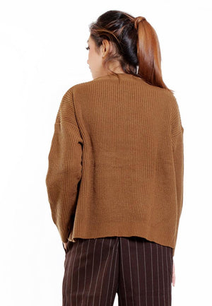 OUTER CROP KNITT