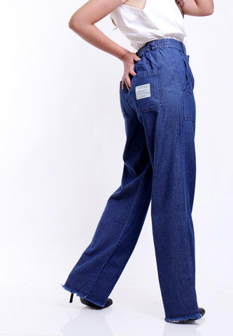BLUE CLASSIC DENIM TROUSER