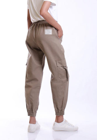 CARGO PANTS WITH ROPE DETAIL