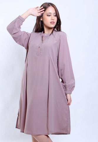TUNIC BLOUSE PLEATS