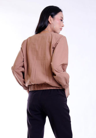 OVERSIZED JACKET DOUBLE POCKET