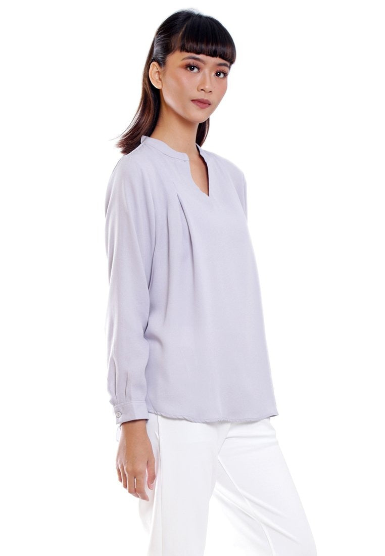 CHLOE BLOUSE LONG SLEEVE - Hardware Clothing