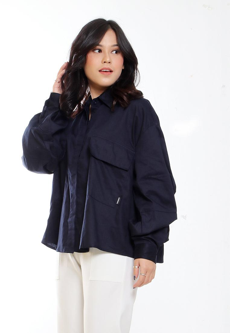 SHIRT OVERSIZE SLEEVE PUFF