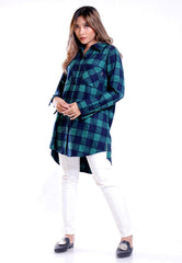 OVERSIZE SHIRT PLAID