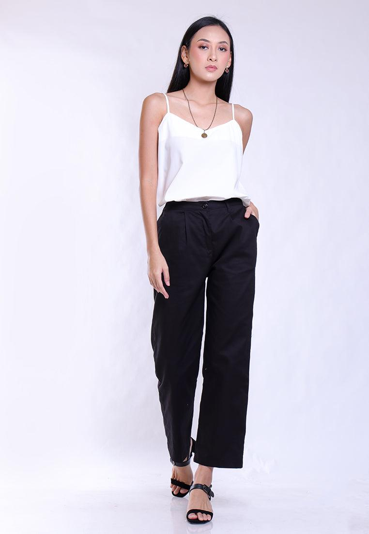 RELAX TROUSERS IN BLACK