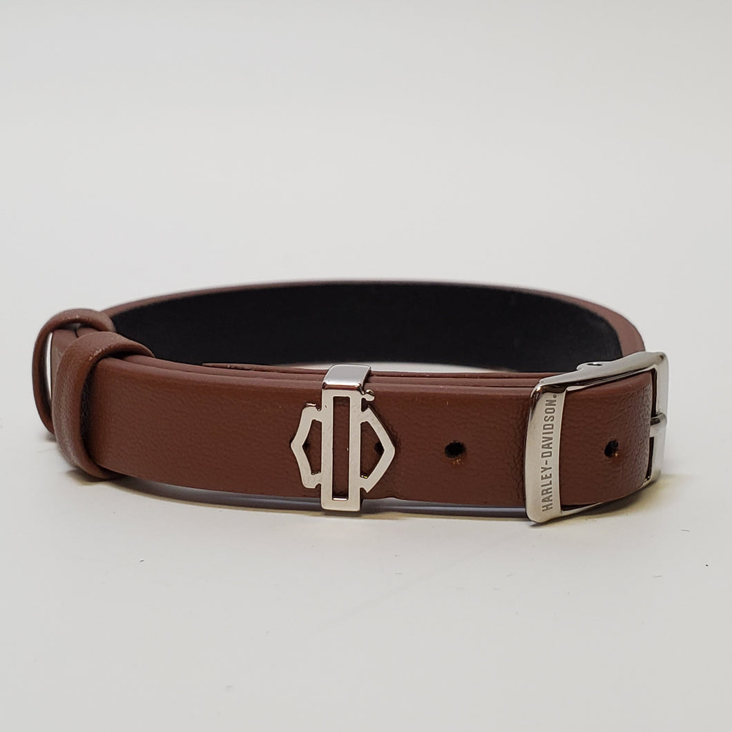 Harley-Davidson® Rally Bracelet -Brown Leather