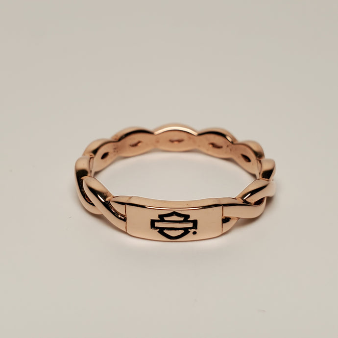 Braided Rose Gold Ring