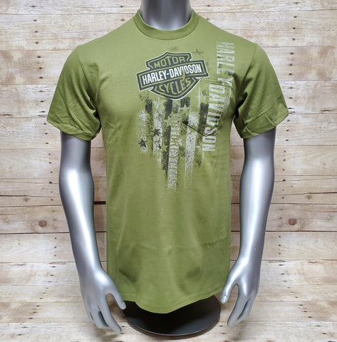 Army Green Pocket T-shirt