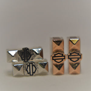 Harley-Davidson® Rally Bracelet Charm - Prism Bar & Shield
