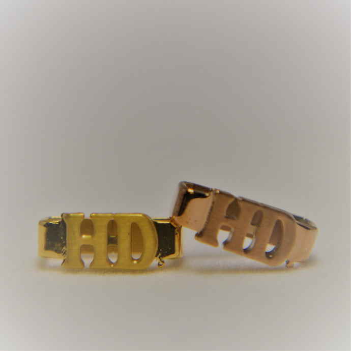 H-D Rally Bracelet Charm - Gold and Rose Gold