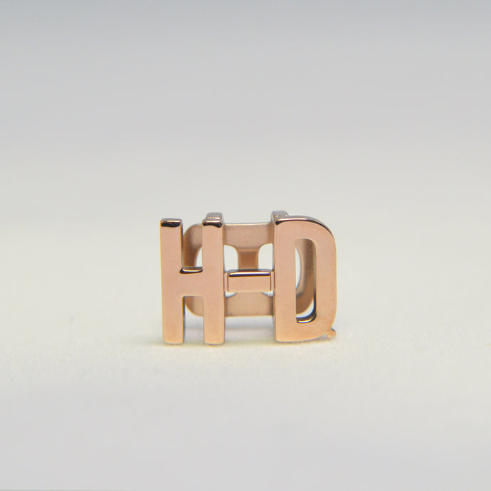 H-D Rose Gold Rally Bracelet Charm