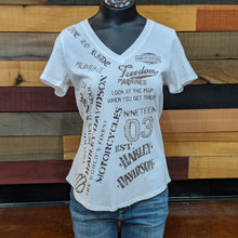 Load image into Gallery viewer, Women's Word Mark T-Shirt Front