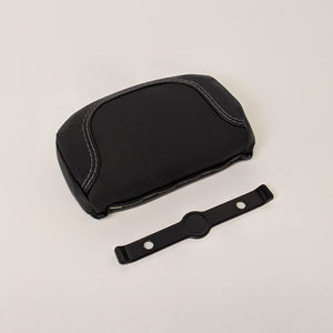 Compact Black Backrest