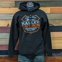 Load image into Gallery viewer, Men's Shield Hoodie Front