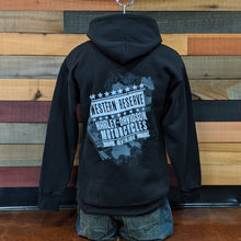 Load image into Gallery viewer, Men's Shield Hoodie Back
