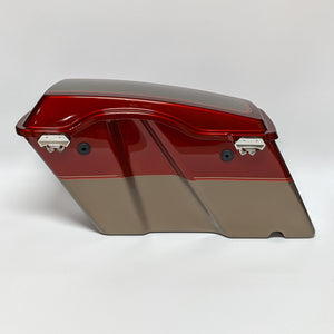 Touring Right Saddlebag - Red Hot Sunglo