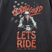Load image into Gallery viewer, Screw COVID, Let's Ride! T-Shirt