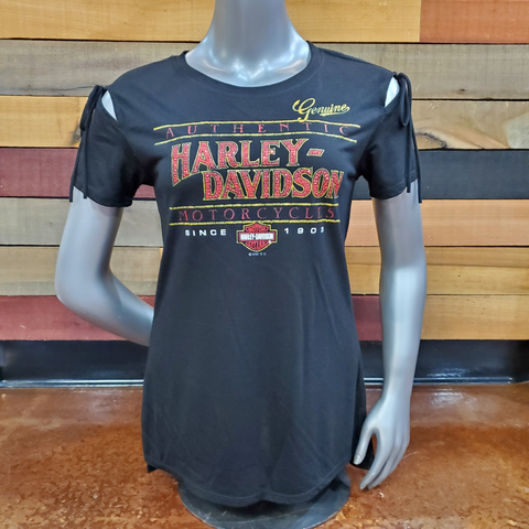 H-D Genuine tied t-shirt