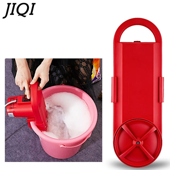 JIQI Mini Portable washing machine electric clothes washing cleaning device student dormitory rent room household 110V/220V